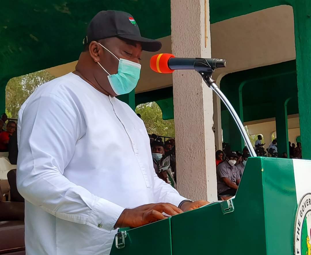 Governor Ugwuanyi salutes Enugu State workers patience, dedication to duty, says the priceless peace we enjoy underlies our governance accomplishments